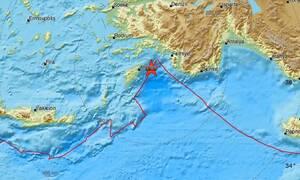 Σεισμός στη Ρόδο - Αισθητός σε πολλές περιοχές