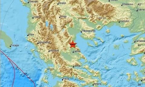 Σεισμός ΤΩΡΑ μεταξύ Λάρισας και Κατερίνης