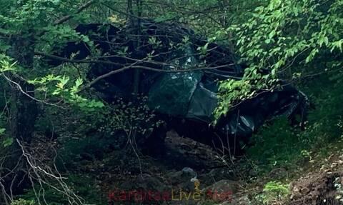 Ανείπωτη τραγωδία στην Καρδίτσα: Νεκρά δυο αδέρφια - Έπεσαν σε γκρεμό με το Ι.Χ. τους
