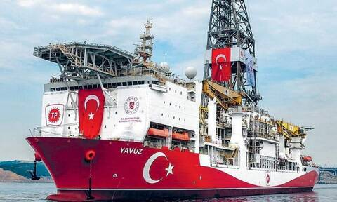 Ανοιχτά της Πάφου το τουρκικό γεωτρύπανο Γιαβούζ - Ετοιμάζεται για νέα γεώτρηση