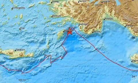 На Родосе произошло землетрясение 5,1 балла