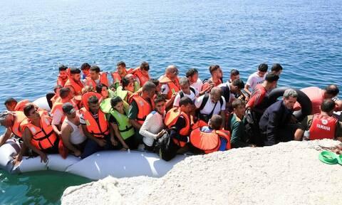 Поток мигрантов в Грецию увеличился на 200%