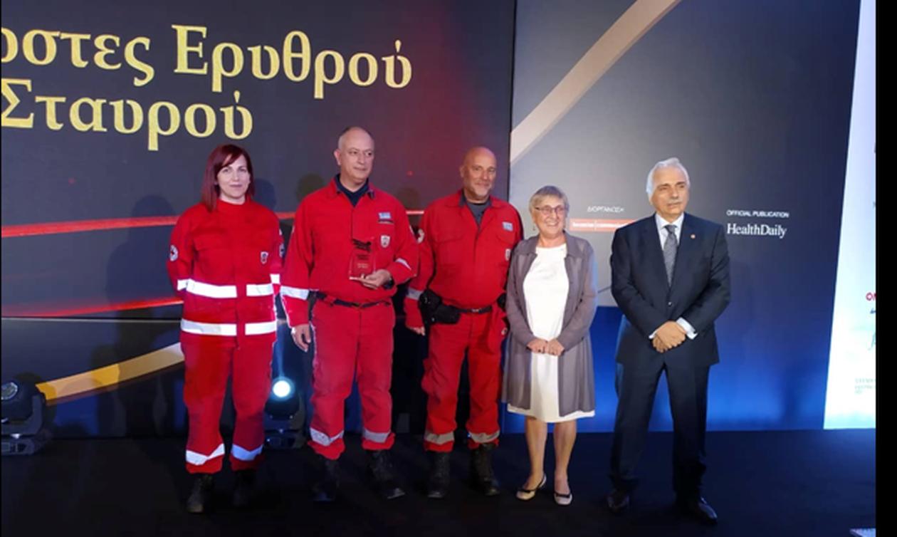 Βράβευση των εθελοντών του Ελληνικού Ερυθρού Σταυρού στα Healthcare Business Awards 2019