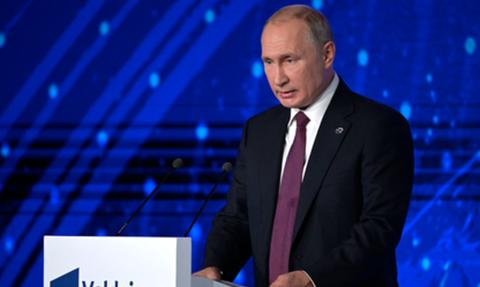 Путин рассказал о предотвращенной гражданской войне в России