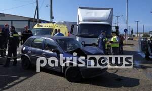 Αμαλιάδα: Σοβαρό τροχαίο με δύο τραυματίες
