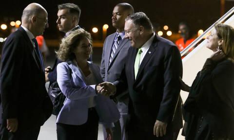 Στην Αθήνα ο Αμερικανός υπουργός Εξωτερικών, Μάικ Πομπέο - Δρακόντεια μέτρα ασφαλείας