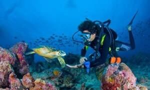 «Οι θάλασσες της χώρας προσφέρουν εκπληκτικά σημεία υποβρύχιας εξερεύνησης»