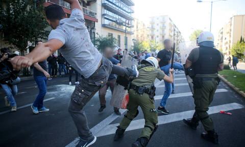 Επεισόδια στο κέντρο της Αθήνας: Χημικά στην πορεία του ΠΑΜΕ για την επίσκεψη Πομπέο
