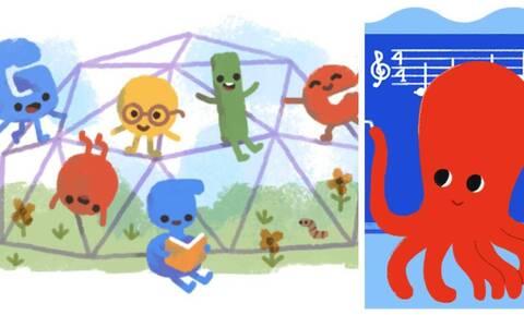 Ημέρα των Εκπαιδευτικών: Η Google τιμά με doodle την ελεύθερη διδασκαλία