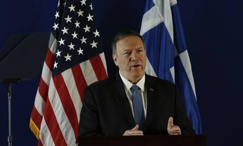 Νέο αυστηρό μήνυμα Πομπέο σε Τουρκία - Τι θα κάνουν οι ΗΠΑ σε περίπτωση νέων «Ιμίων»