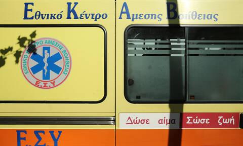 Παραλίγο τραγωδία στη Λάρισα: Σε σοβαρή κατάσταση νοσηλεύεται 45χρονος μετά από πτώση