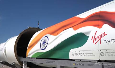 Στην Ινδία θα λειτουργήσει το πρώτο Hyperloop One