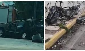 Φρικτό τροχαίο στην Κηφισίας: Συγκλονιστικές εικόνες - Δείτε τι συνέβη