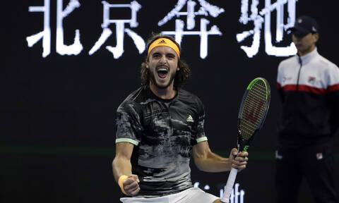 Τελικός China Open Τσιτσιπάς vs Τιμ: Η μεγάλη μάχη του Στέφανου