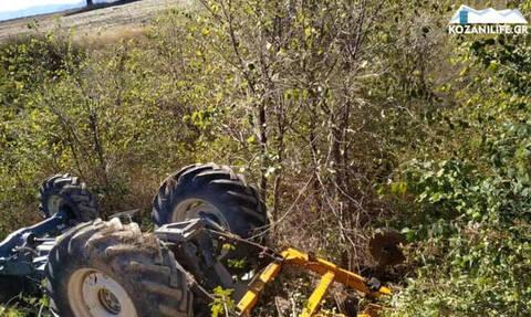 Τραγωδία στην Κοζάνη: Νεκρός αγρότης που καταπλακώθηκε από το τρακτέρ του