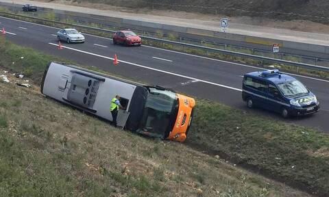 Γαλλία: Τραγικό δυστύχημα με λεωφορείο - Ένας νεκρός και 17 τραυματίες