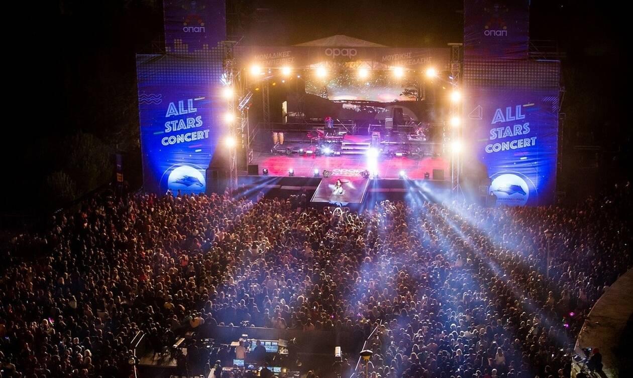 Αll Stars Concert: Ρουβάς, Παπαρίζου και Φουρέιρα ξεσήκωσαν περισσότερους από 12.000 θεατές