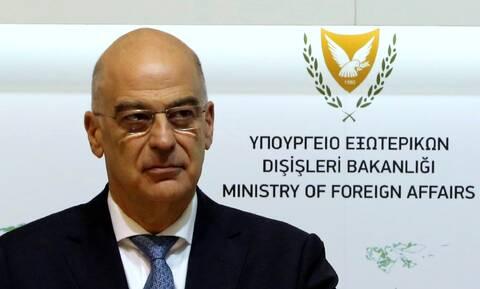 Ηχηρό μήνυμα Δένδια: «Η Κύπρος δεν είναι μόνη»