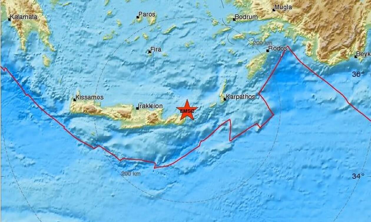 Σεισμός στο Λασίθι (pics)