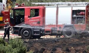 Τραγωδία στην Ασπροβάλτα: Απανθρακώθηκε γυναίκα μετά από φωτιά σε τροχόσπιτο