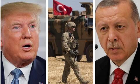 «Παιχνιδάκι» ο Ερντογάν στα χέρια του Τραμπ: Η συμφωνία μεταξύ τους και το «σκοτσέζικο ντους»