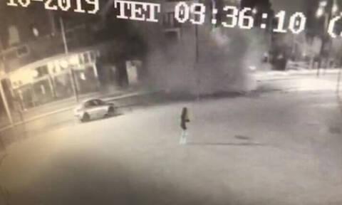 Βίντεο - ντοκουμέντο από την έκρηξη στην Πειραιώς και τις κινήσεις των δραστών