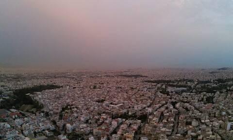Καιρός: «Εκρηκτικό» κοκτέιλ ζέστης και αφρικανικής σκόνης - Αποπνικτική η ατμόσφαιρα την Πέμπτη