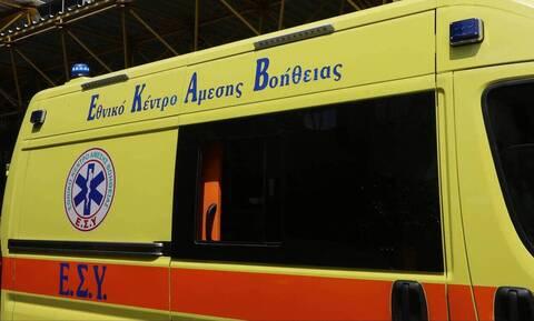 Τροχαίο με δέκα τραυματίες έξω από τη Θεσσαλονίκη