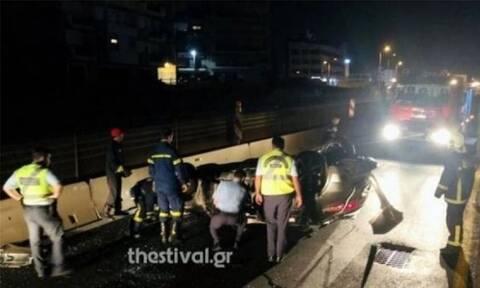 Φρικτό τροχαίο στη Θεσσαλονίκη: Τρεις νεκροί και 12 τραυματίες έξω από τον Λαγκαδά