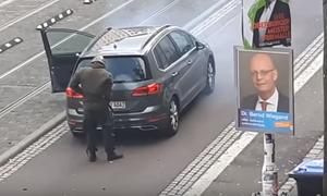 Σοκ στη Γερμανία: Μετέδιδε live τη φονική επίθεση στη συναγωγή - Την είδαν 2.200 άνθρωποι (vid)