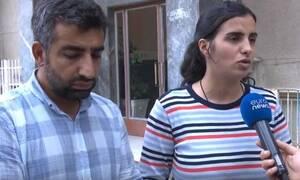 Οινούσσες: Συγκλονίζει το ζευγάρι τον Κούρδων που έχασαν τα παιδιά τους στο ναυάγιο (vid)