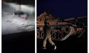 Εικόνες ΣΟΚ στη Συρία: Νεκροί άμαχοι και σπίτια στις φλόγες μετά από τους βομβαρδισμούς (vid)