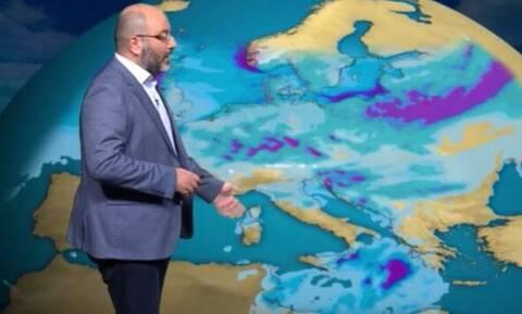 Καιρός: Η προειδοποίηση του Σάκη Αρναούτογλου για τον ισχυρότερο τυφώνα όλων των εποχών (photo)