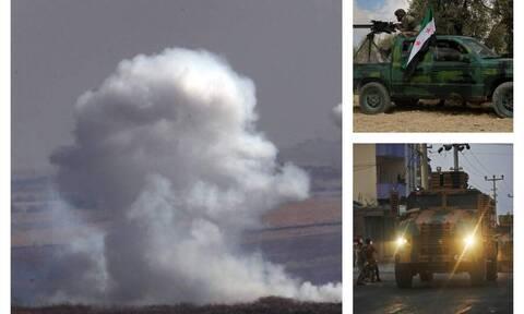 Κόλαση στη Συρία: Αίμα, θάνατο και καταστροφή σκορπούν οι Τούρκοι - Χτυπούν χωριά και αμάχους (pics)