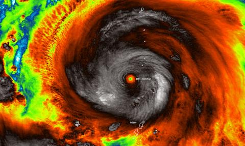Hagibis… the beast: Ο τυφώνας… τέρας που τρέμουν στη NASA