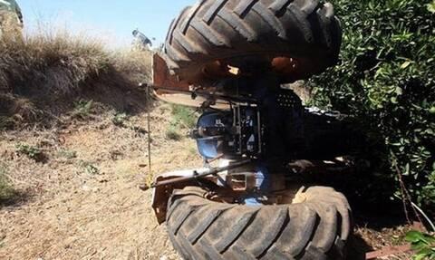 Τραγωδία στην Κρήτη: Αγρότης έπεσε με το τρακτέρ του σε γκρεμό 250 μέτρων