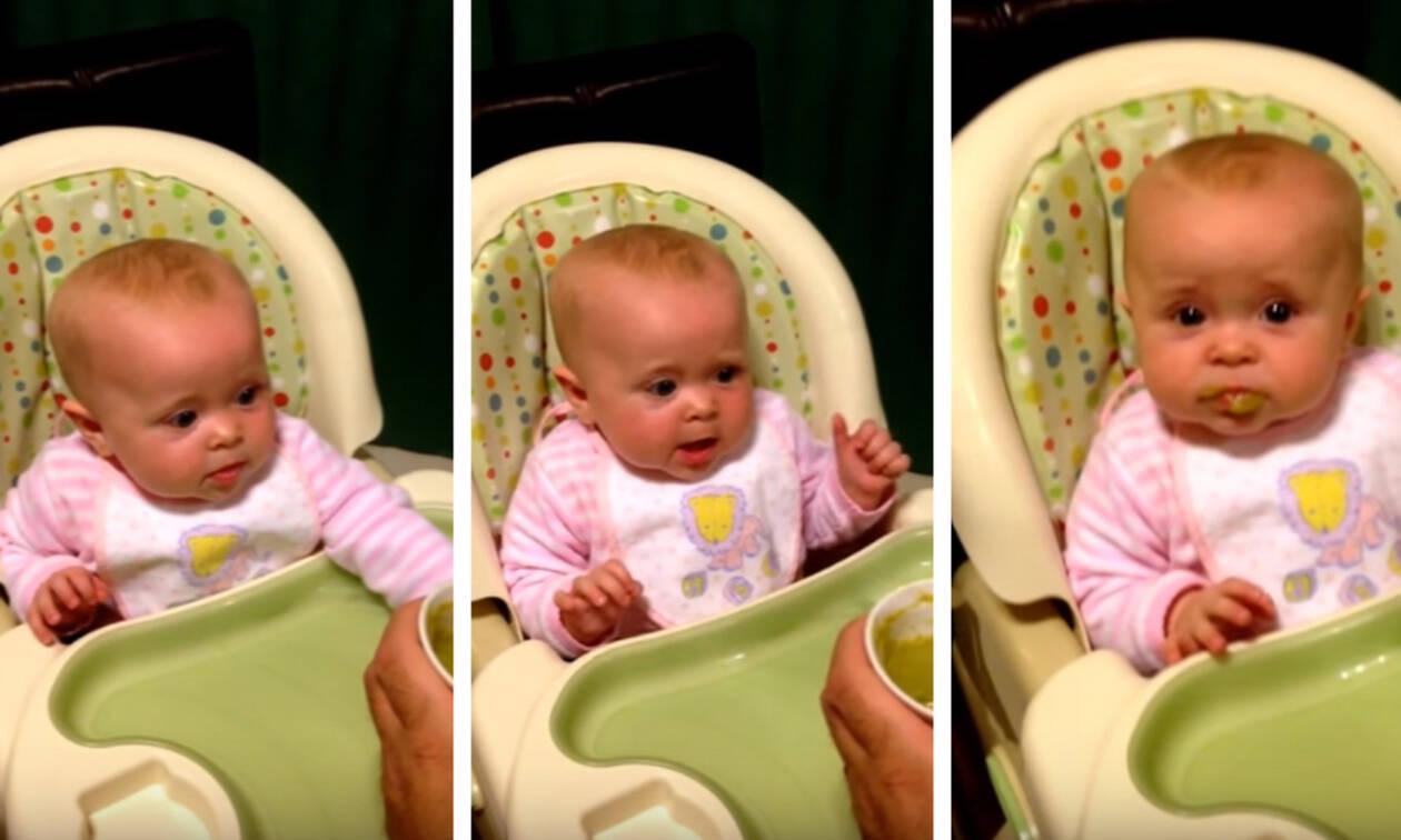 Δεν φαντάζεστε τι είπε το μωρό και τρέλανε τους γονείς του (vid)