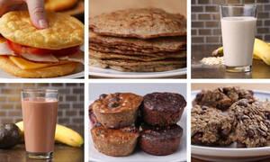 Έξι συνταγές για πρωινό με τρία μόνο υλικά (vid)