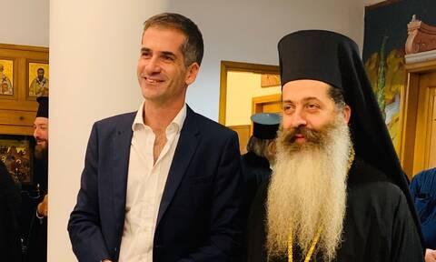 Ο δήμαρχος Αθηναίων συνεχάρη το νέο Μητροπολίτη Φθιώτιδος