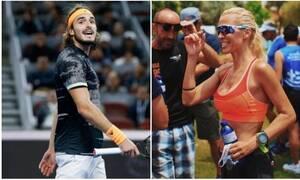 Ποιος Τσιτσιπάς; Η Ασημίνα Ιγγλέζου παίζει καλύτερα με τα μπαλάκια... του τένις (pics+vid)