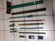 Φυλακές Κορυδαλλού Μαχαίρια ρόπαλα κινητά και ναρκωτικά - Αποκαλυπτικές φωτογραφίες