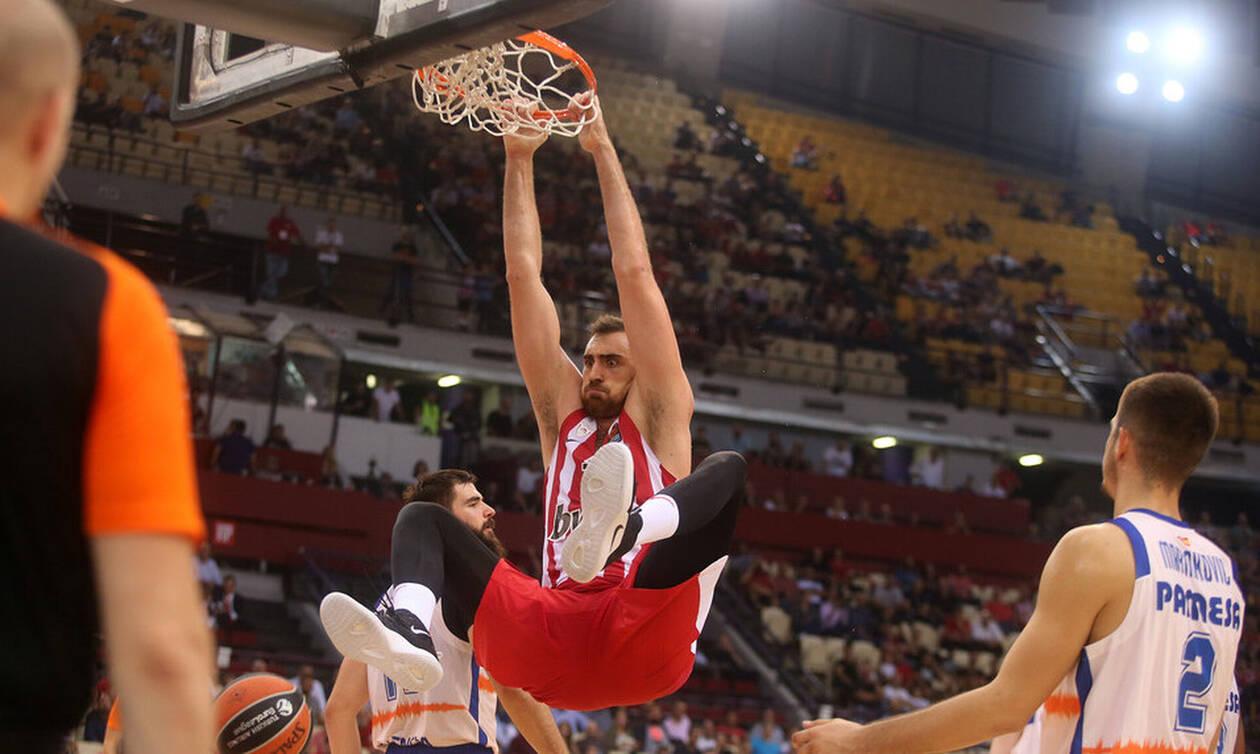 Ολυμπιακός - Βαλένθια 89-63: Σάρωσε τους Ισπανούς και πήρε ανάσα
