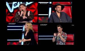 The Voice: Ζουγανέλη και Ρουβάς πάλευαν να την διεκδικήσουν κι εκείνη την «είπε» στον Μουζουράκη