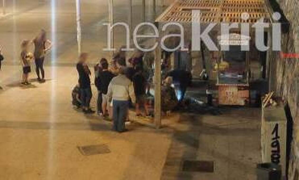 Κρήτη: Παρ' ολίγο τραγωδία - Παιδί έπεσε από πέργκολα