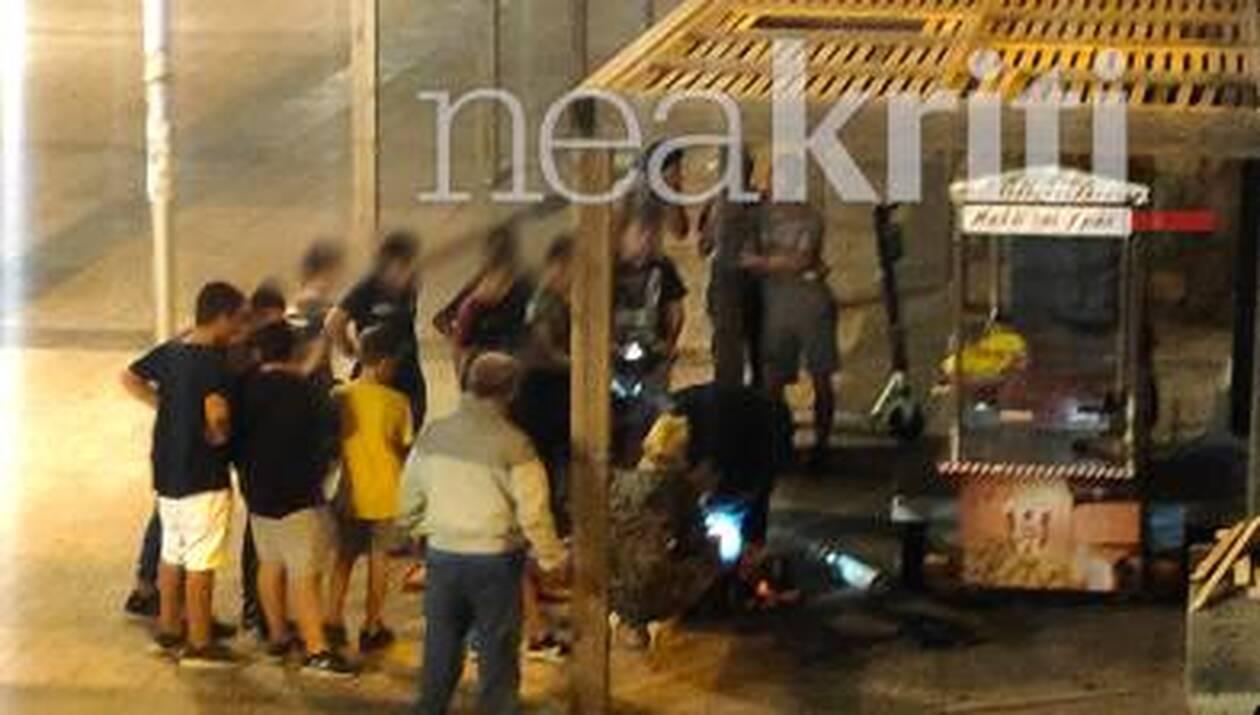 Κρήτη Παρ ολίγο τραγωδία - Παιδί έπεσε από πέργκολα