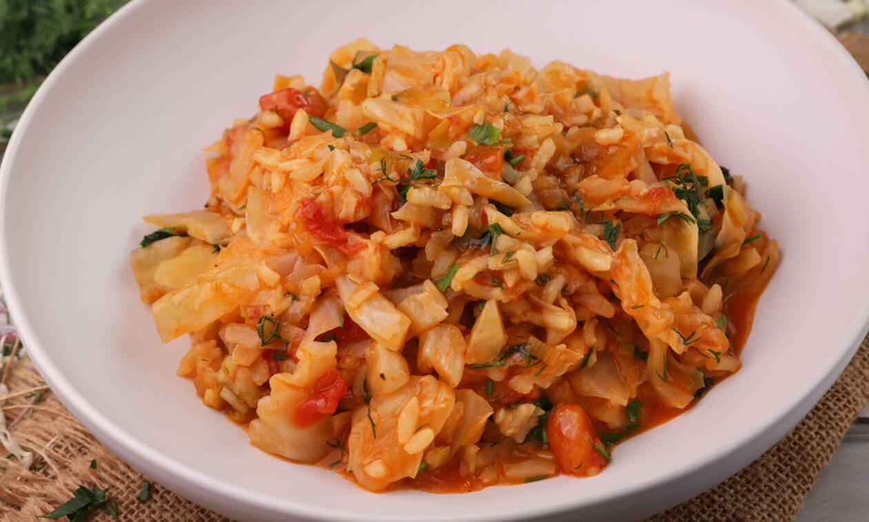 Εύκολη και γρήγορη συνταγή για λαχανόρυζο