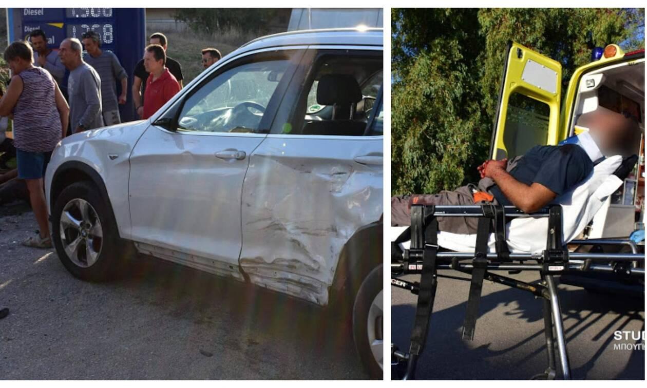 Τροχαίο – σοκ στο Ναύπλιο - Ένας τραυματίας (pics)