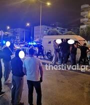Θεσσαλονίκη Κινηματογραφική σύλληψη διακινητή που οδηγούσε βαν με 20 μετανάστες