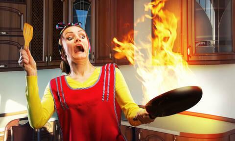 Τα ΧΕΙΡΟΤΕΡΑ ατυχήματα που έχουν συμβεί σε κουζίνες!(φωτό)