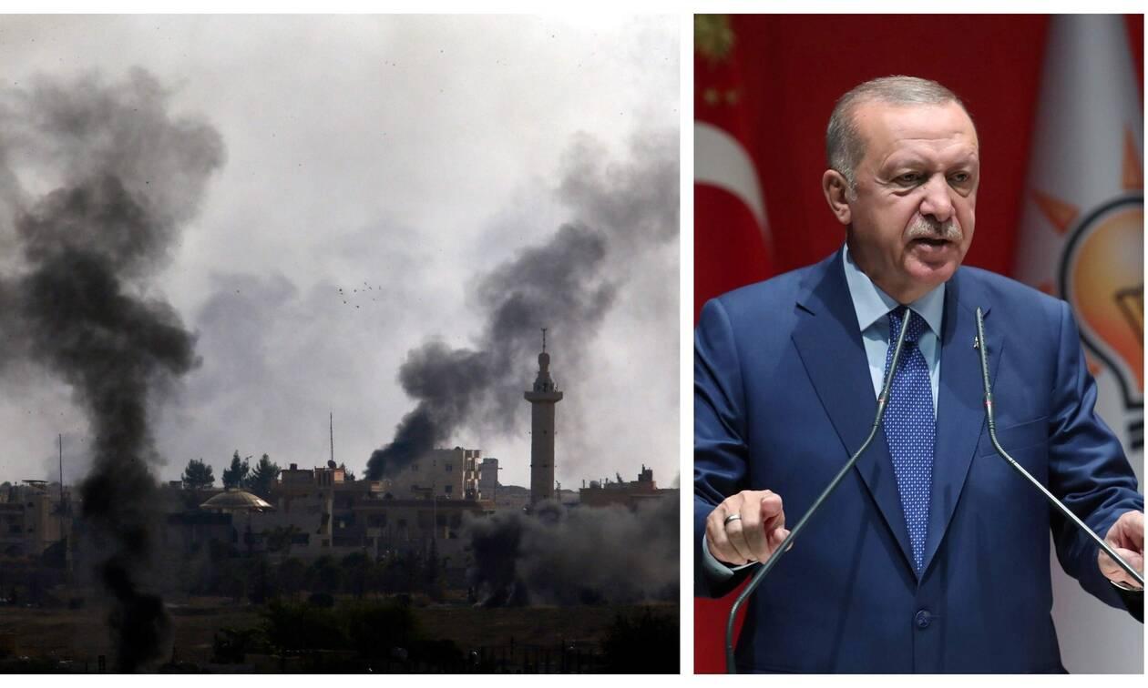 Προελαύνουν οι Τούρκοι στη Συρία - Ερντογάν: Θα πάμε μέχρι τέλους - Σκοτώσαμε 440 «τρομοκράτες»